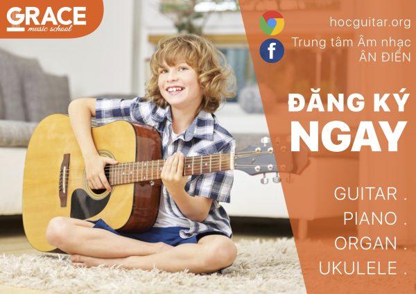 Khoá học đàn guitar đệm hát