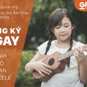 Khoá học ukulele đệm hát cơ bản tphcm